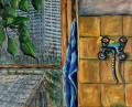 Chez Phaedra - 80x100cm - 1995 thumbnail