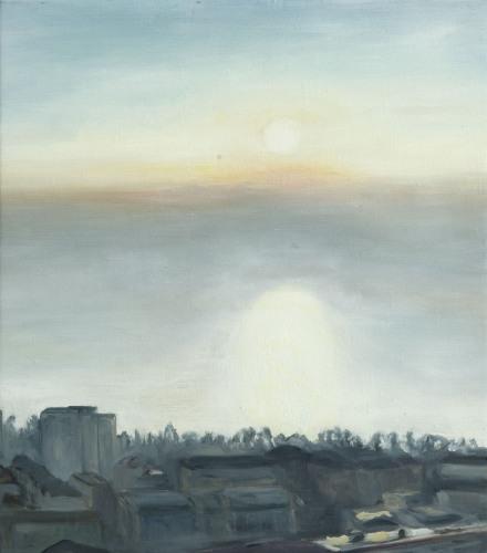 Lausanne °16 - 47x53cm - 2004