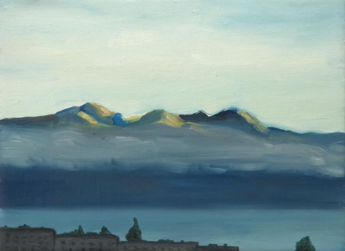 Lausanne °21 - 26x35cm - 2004