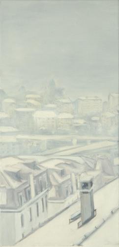 Lausanne °28 - 61x30cm - 2004