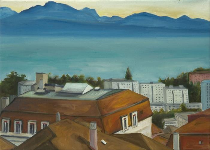 Lausanne °9 - 36x50cm - 2004