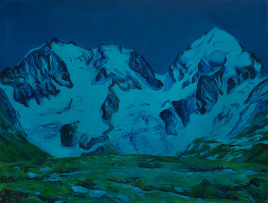 Montagnes °94 - 115x150cm -2016