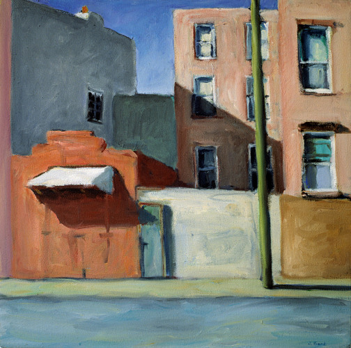 White Street - 50x60cm - 1998