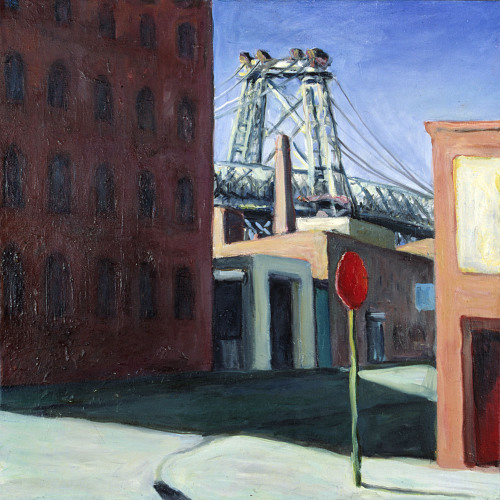 Williamsburgs Bridge - 45x45cm - 1998
