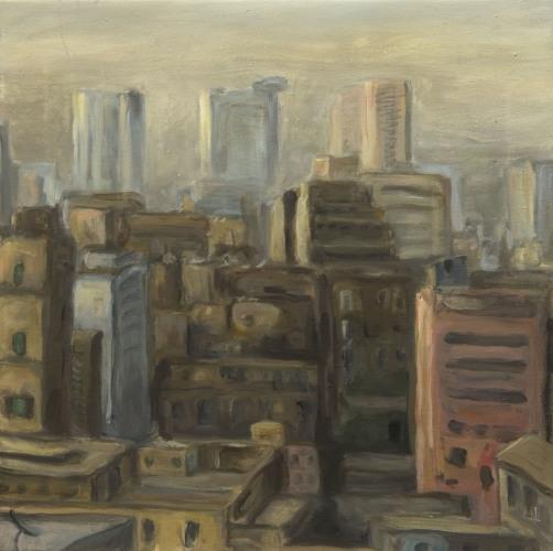 Cairo °13 - 47x47cm - 2005