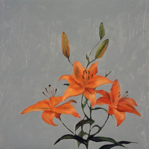 Fleurs °10 - 45x45cm - 2005
