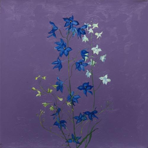 Fleurs °3 - 45x45cm - 2005