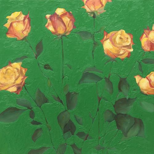 Fleurs °5 - 45x45cm - 2005