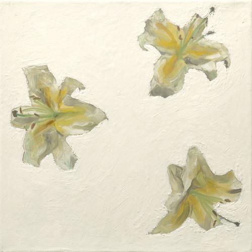 Fleurs °7 - 45x45cm - 2005
