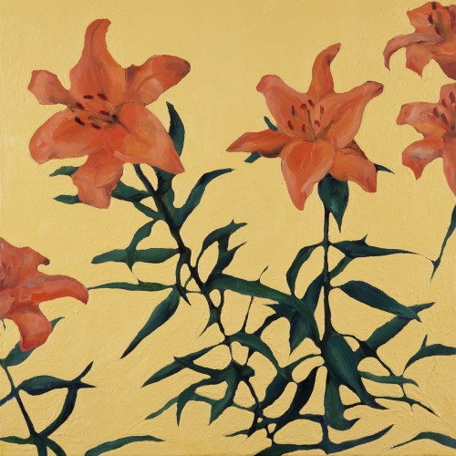 Fleurs °8 - 45x45cm - 2005