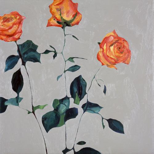 Fleurs °9 - 45x45cm - 2005