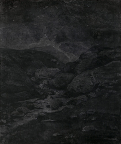 Montagnes °10 - 95x80cm - 2009