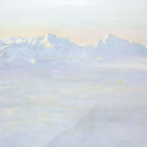 Montagnes °17 - 150x150cm - 2010