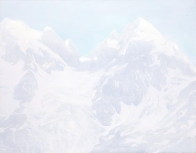 Montagnes °21 - 90x115cm - 2010