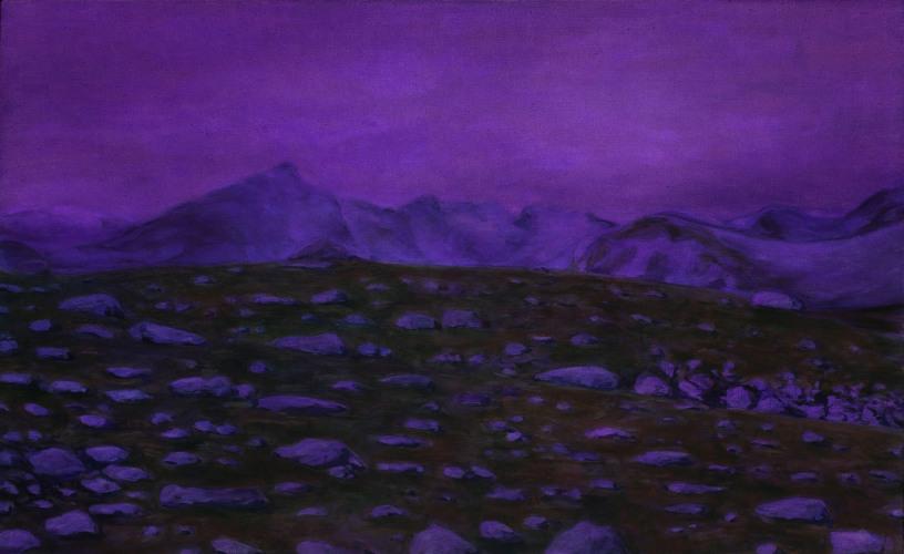 Montagnes °23 - 100x180cm -2010