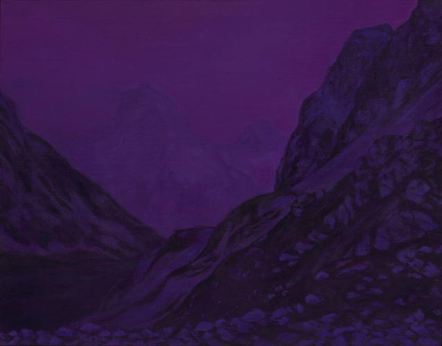 Montagnes °25 - 90x115cm - 2010
