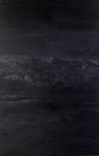 Montagnes °26 - 100x180cm - 2010