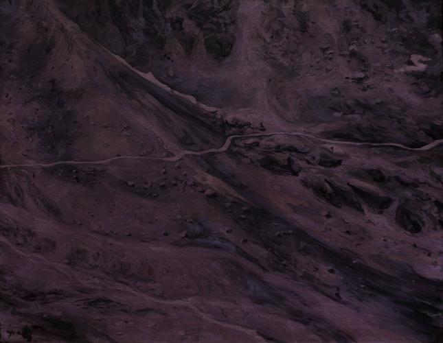 Montagnes °28 - 90x70cm - 2011