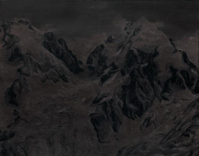 Montagnes °29 - 90x70cm - 2011
