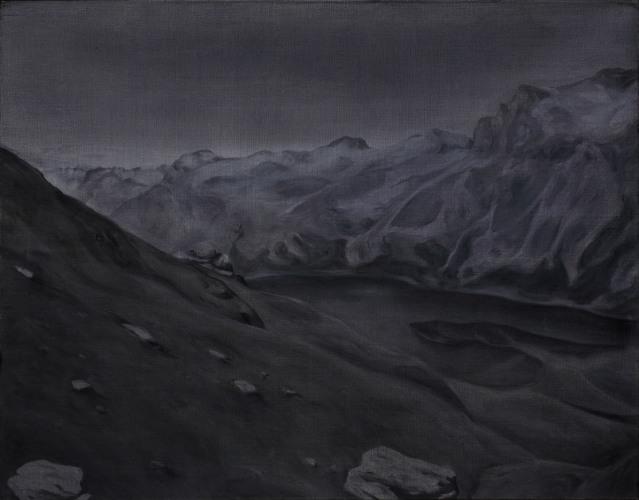 Montagnes °3 - 90x115cm - 2008