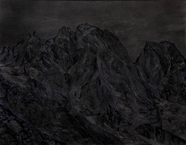 Montagnes °30 - 90x70cm - 2011
