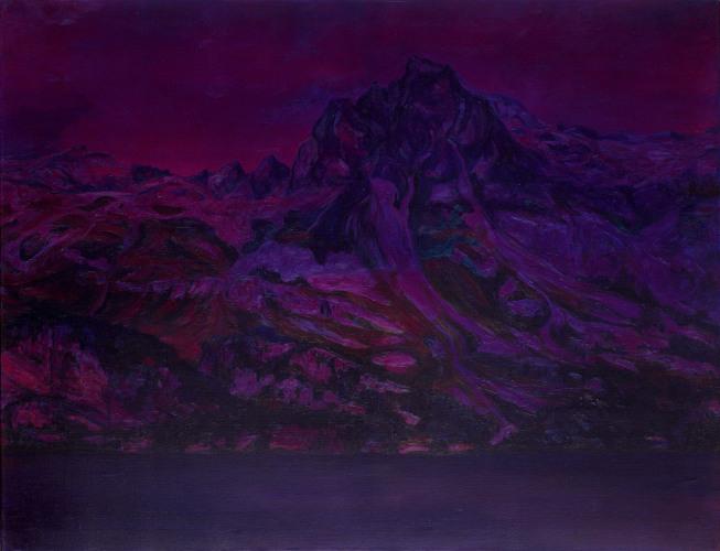 Montagnes °32 - 100x130cm - 2010