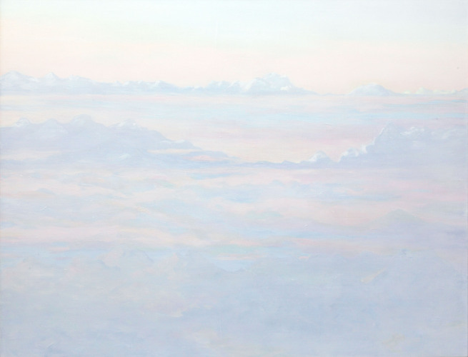 Montagnes °33 - 115x150cm - 2011