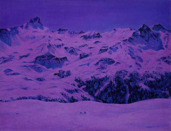 Montagnes °36 - 115x150cm - 2011