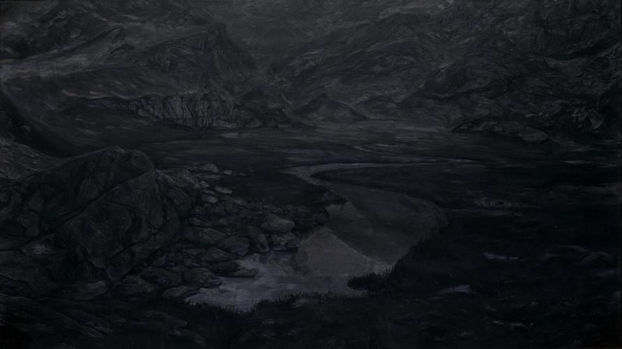 Montagnes °38 - 90x160cm - 2011