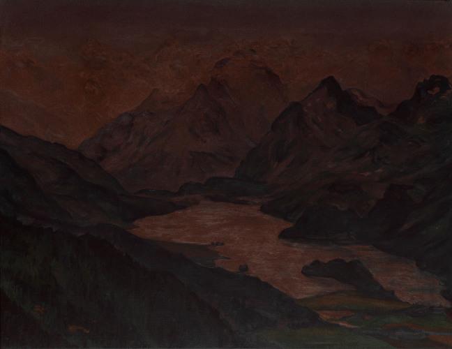 Montagnes °39 - 100x130cm - 2011