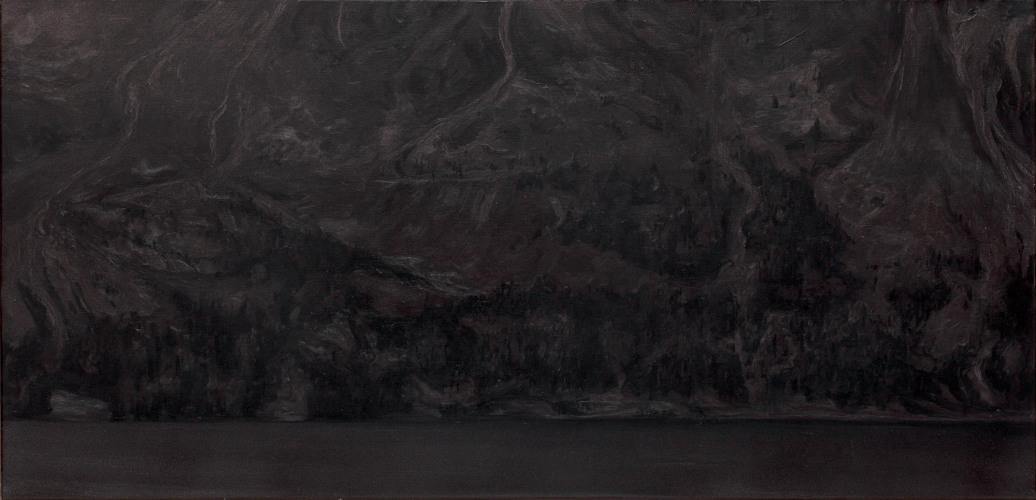 Montagnes °40 - 63x130cm - 2011