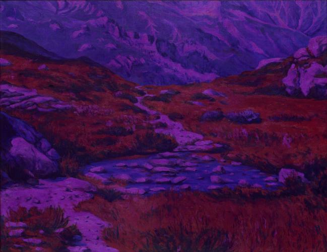 Montagnes °41 - 100x130cm - 2011