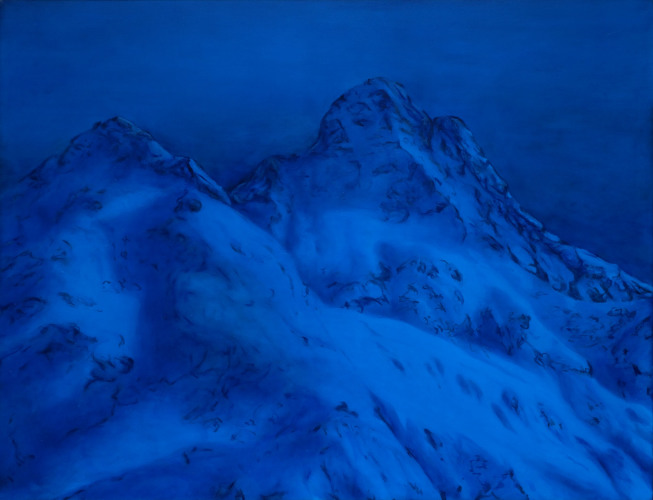 Montagnes °42 - 115x150cm - 2011