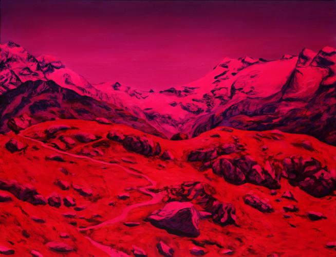 Montagnes °43 - 115x150cm - 2011