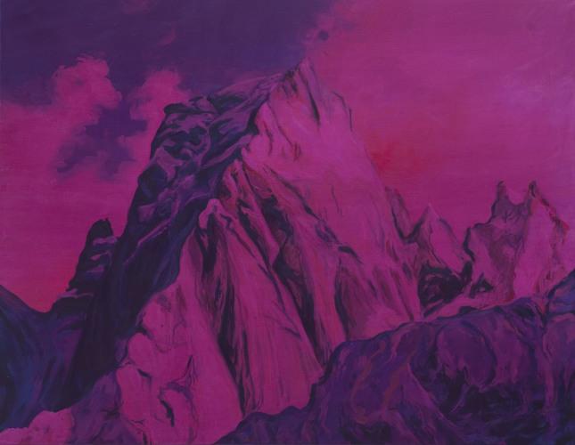 Montagnes °44 - 90x70cm - 2011