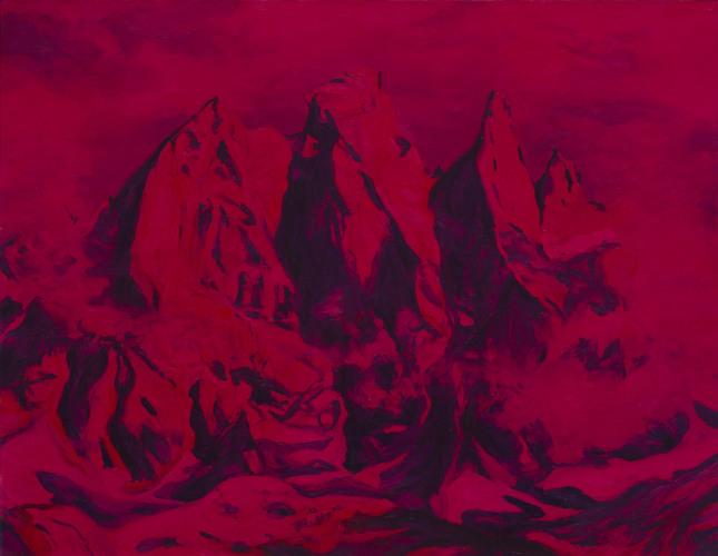 Montagnes °45 - 90x70cm - 2011