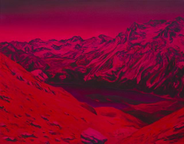 Montagnes °46 - 90x115cm - 2011