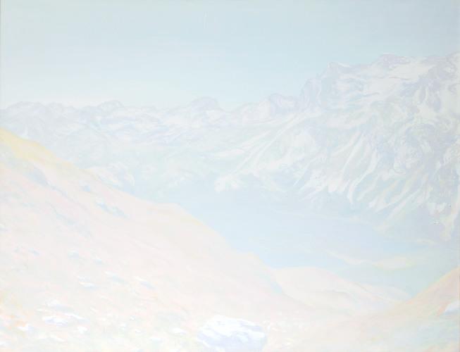 Montagnes °49 - 115x150cm - 2011