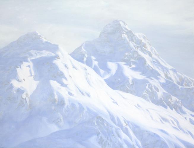 Montagnes °50 - 115x150cm - 2012