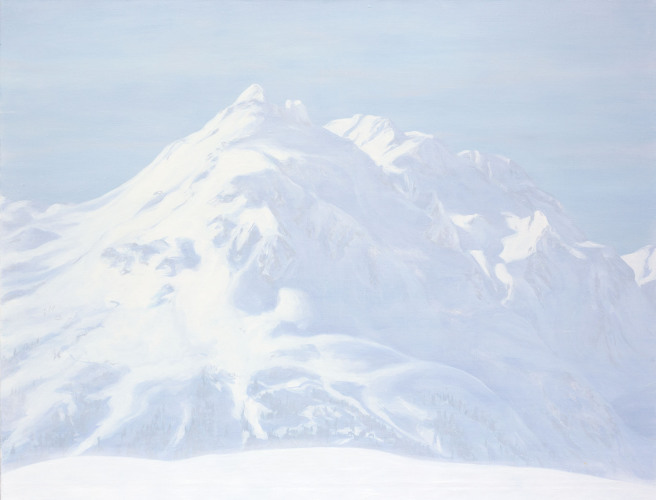 Montagnes °51 - 115x150cm - 2012