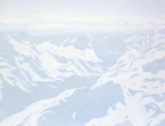 Montagnes °56 - 115x150cm - 2012