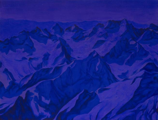 Montagnes °59 - 115x150cm - 2011