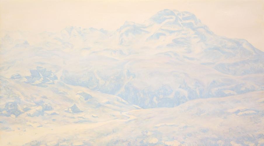Montagnes °60 - 100x180cm - 2012