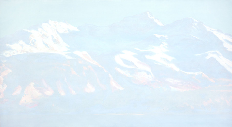 Montagnes °62 - 100x180cm - 2012