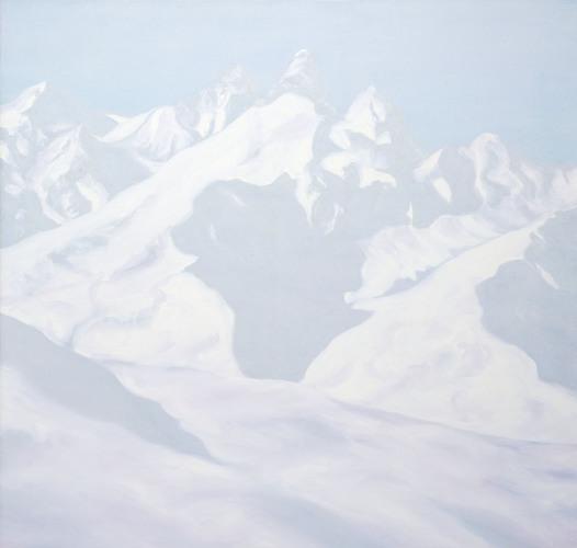 Montagnes °69 - 100x105cm -2013