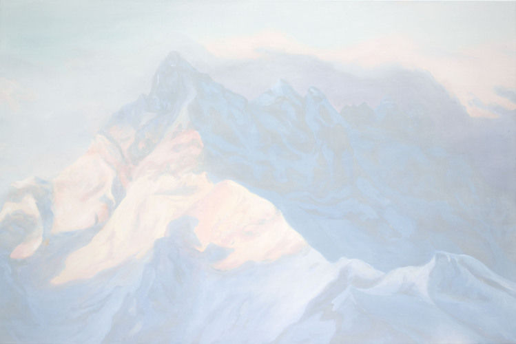 Montagnes °72 - 100x150cm -2013