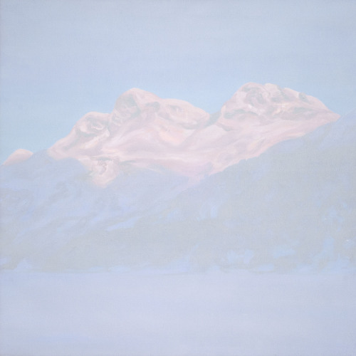 Montagnes °75 - 100x100cm -2013