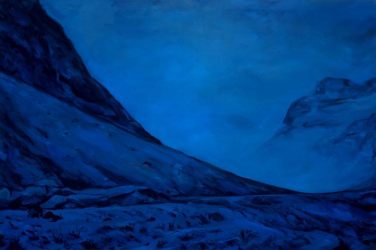 Montagnes °77 - 100x150cm -2013