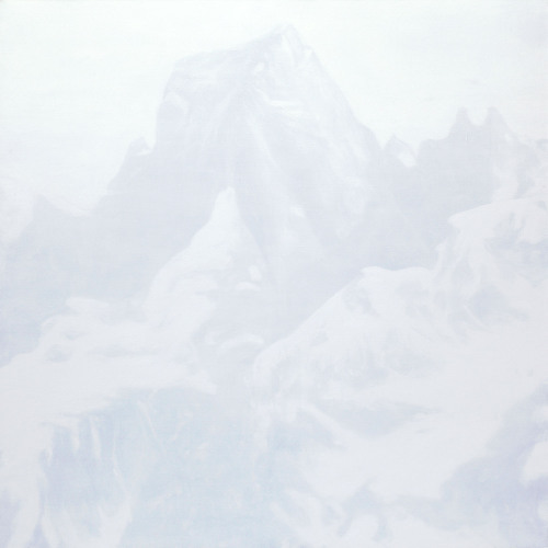 Montagnes °8 - 150x150cm - 2009