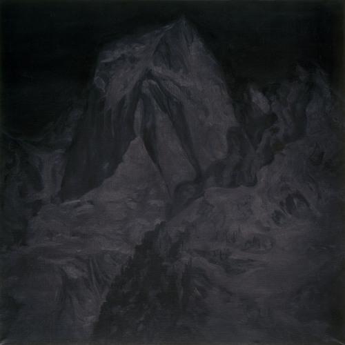 Montagnes °9 - 100x100cm - 2009